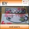 2H full engine cylinder head gasket kit for Toyota Forklift SUV