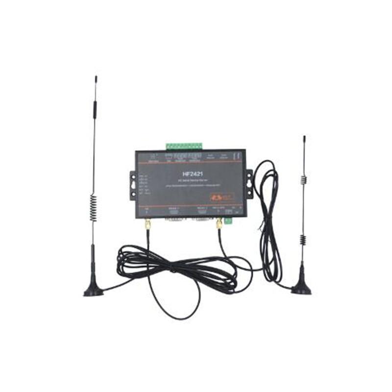 CE 5 unidades/pacote Wifi módulo Device Server Serial RS232 RS485 RS422 para Ethernet Wi-fi 4G 3G Rede GPRS conversor Conector HF2421