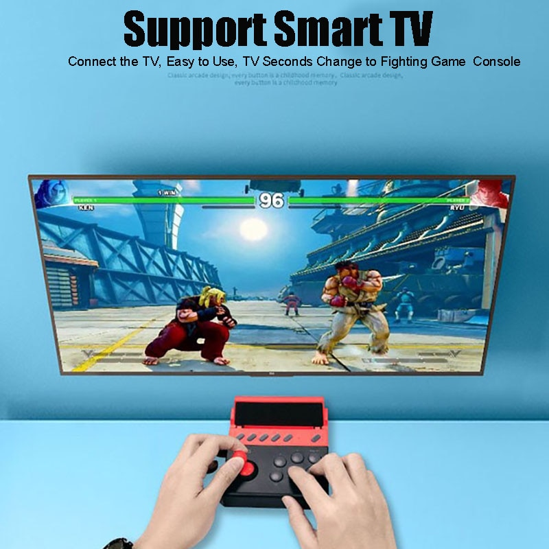 Arcade Joystick juego Joystick para Smartphone Android/IOS teléfono móvil Tablet para luchar contra analógico Mini consolas de juego