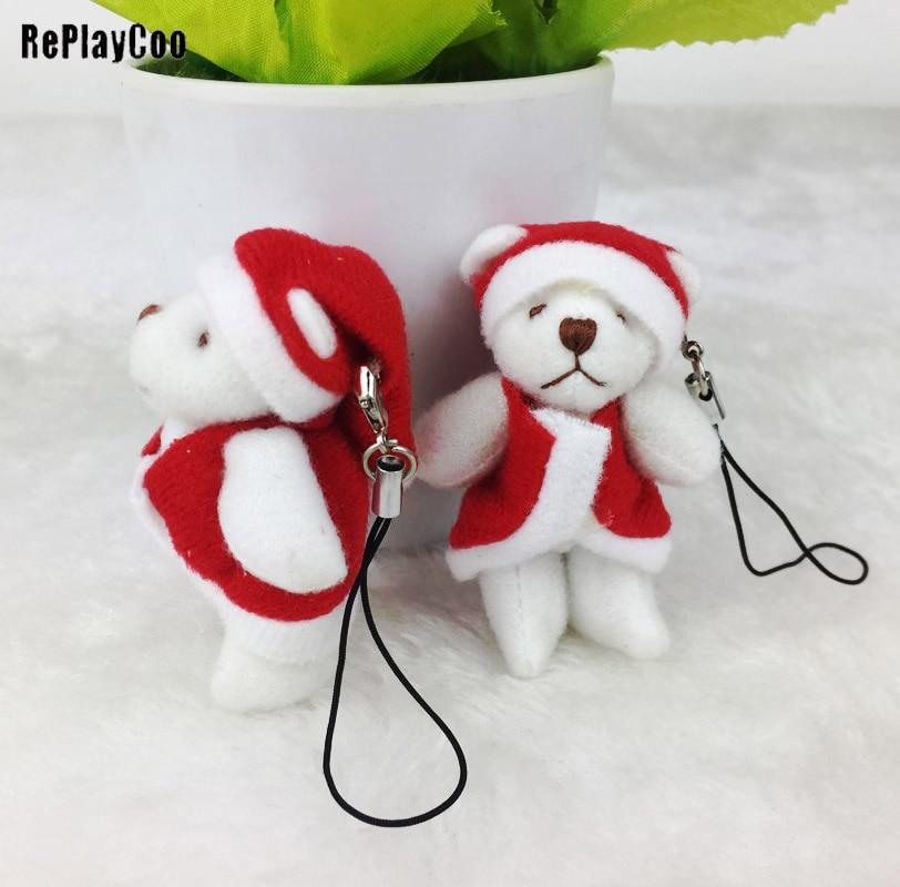Плюшевый мишка, 5 шт./лот 6 см маленький мишка плюшевый мишка чучела игрушки кулон детский подарок на день рождения Декор J00204