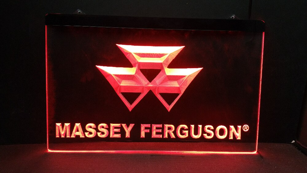 TR-17 Tractor Massey Ferguson cerveza bar pub club 3d signos letrero de neón con luz LED casa manualidades decorativas