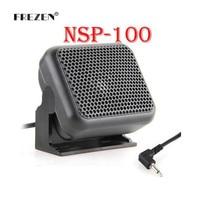Mini External Speaker Microphone NSP-100 for Kenwood Yaesu ICOM Ham Radios