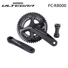 Pédalier Shimano Ultegra R8000 11 vitesses vélo de route 170mm 172.5mm 175mm 50-34T 52-36T 53-39T avec BBR60
