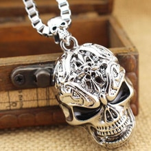 Nouvelle mode 1 pièces Punk hommes en acier inoxydable pendentif collier Rock Style bijoux accessoires déclaration collier cadeaux de fête