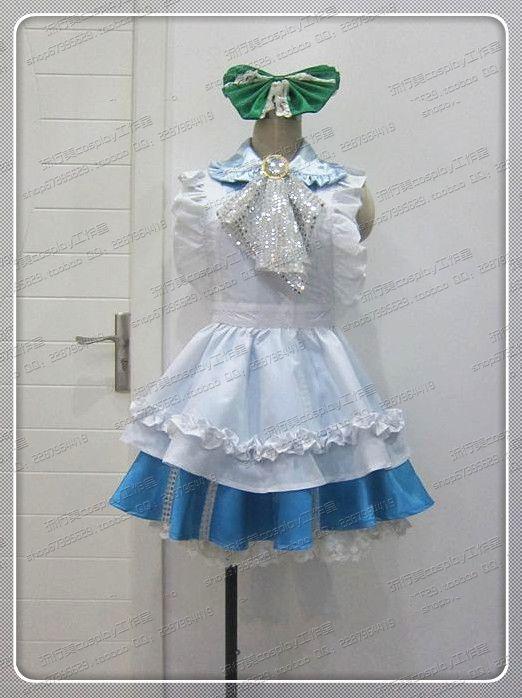 Anime Cosplay Costume Love live! Someday Kotori Minami Handmaid's Dress Z