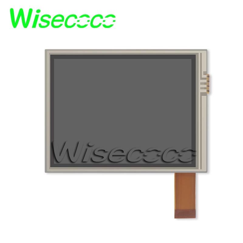 Pantalla lcd de 3,5 pulgadas 4-alambre resistente panel táctil digitalizador de vidrio de COM35H3M74UTC para portátil y PDA
