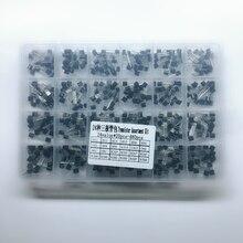 A-92 Transistor Kit surtido 24 valor 480 Uds transistores Paquete de caja S9012 S9013 S9014 S9015 S8050 S8550 2N2222 2N3904 2N3906 BC547