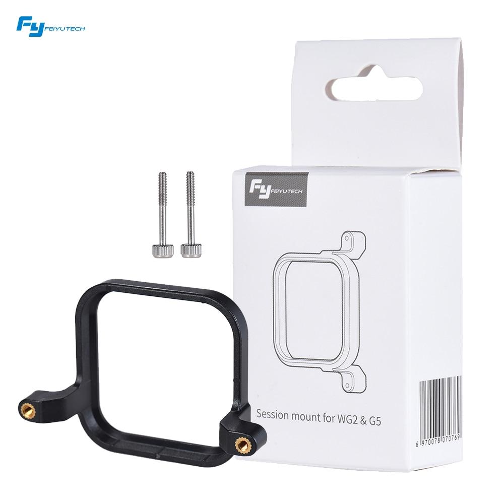 Abrazadera de montaje de fotografía ligera FeiyuTech para cámara de sesión GoPro para montar en cardán de mano de 3 ejes WG G5