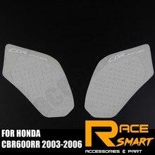 Мотоциклетные прокладки для бензобака для HONDA CBR600RR 2003-2006 наколенник Защитная Наклейка на топливо боковая накладка CBR-600RR CBR 600RR