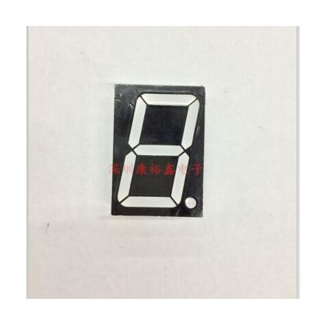 1,5 pulgadas 1 dígito rojo 8 pantalla led 15101AS/15101BS 10 Uds