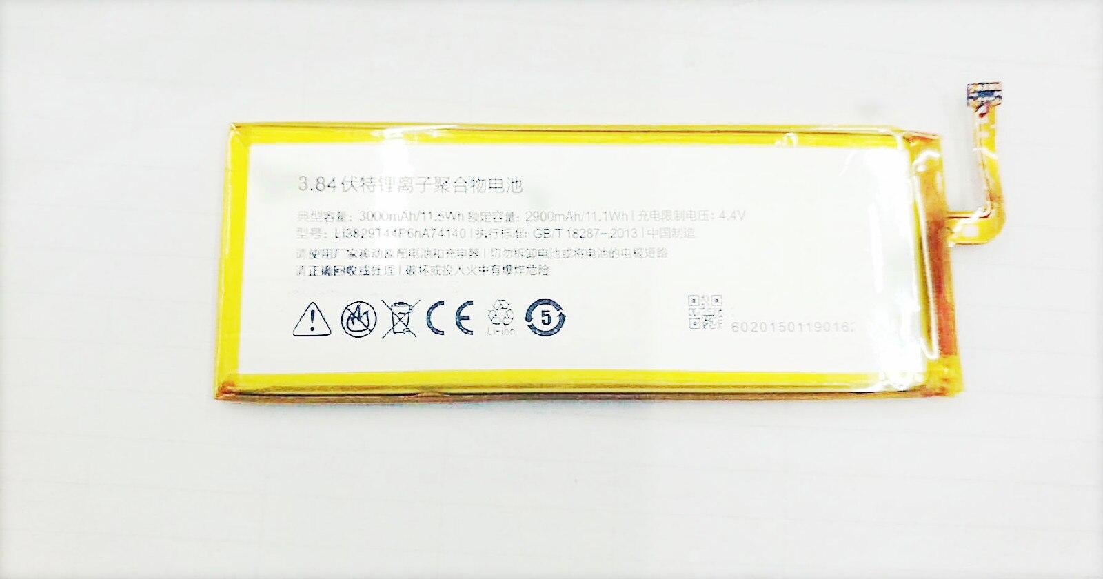 Westrock 3000mAh Li3829T44P6hA74140 battery for ZTE Nubia Z7 Z9 NX508J NX510J NX511J Z9 Max Plus Z9 mini cellphone ncp