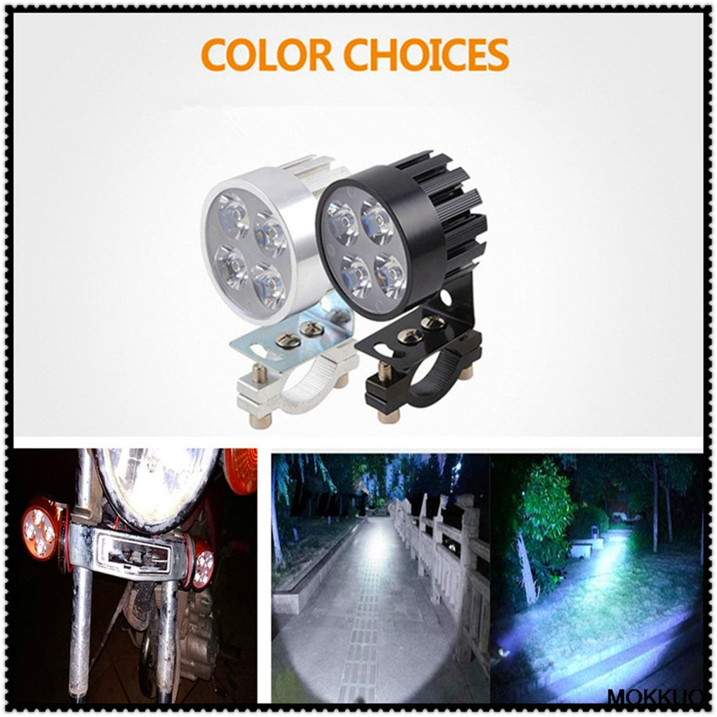 2 uds. Faro delantero LED para motocicleta, Bombilla de faro brillante para BMW R1200RT SE R1200S R1200ST S1000R S1000R S1000RR