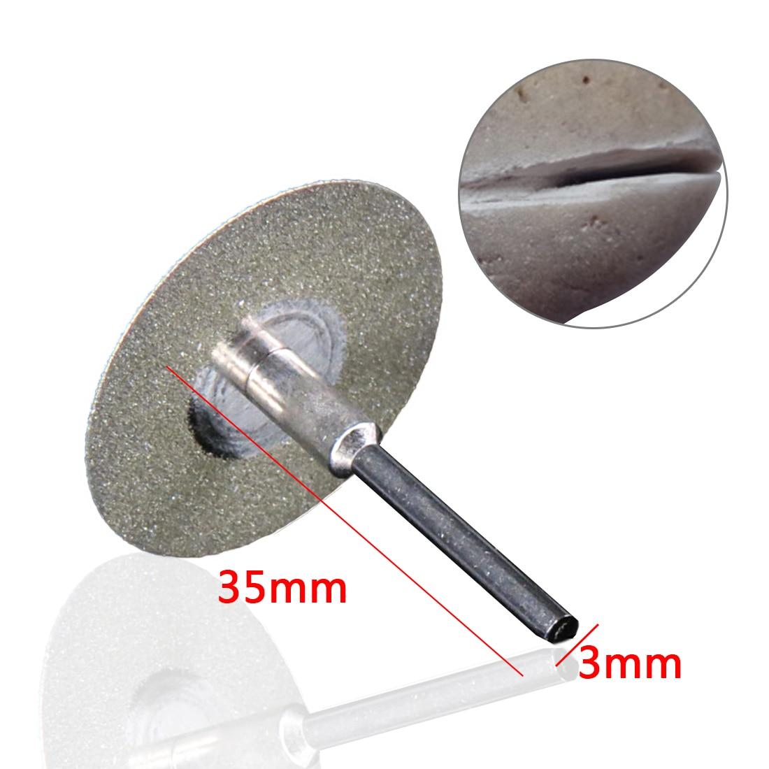 Mini disco de corte Dremel, muela abrasiva de diamante giratoria, - Herramientas abrasivas - foto 4