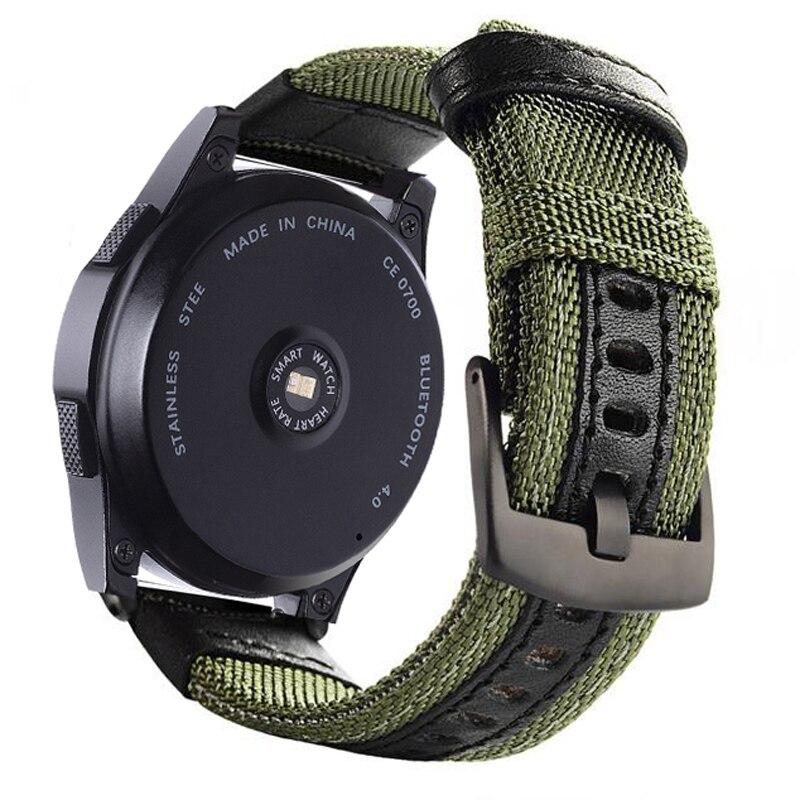 Pulseira de lona para haylou ls05 solar relógio inteligente esporte pulseira correias para xiaomi haylou solar pulseira correa