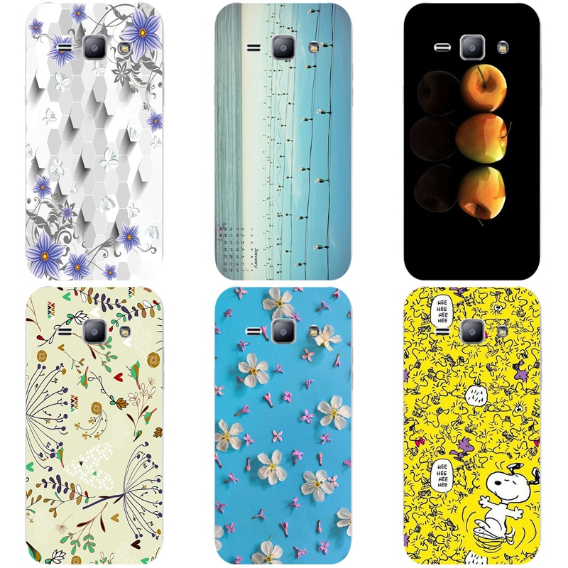 Coque para Samsung Galaxy ACE3 ACE 3 III S7270 7270 S7272 S7275 S7278 fundas de teléfono duras de dibujos animados de flores cubierta de impresión