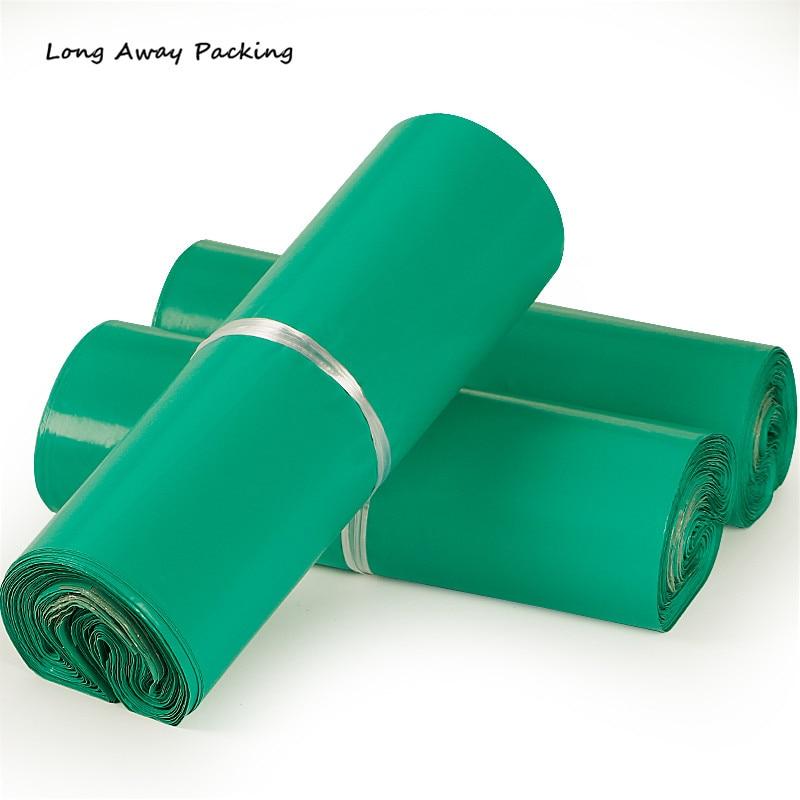 Sobre De Color verde De gran tamaño/bolsa De Correo/bolsa De correo De mensajería, Bolsas De correo De plástico