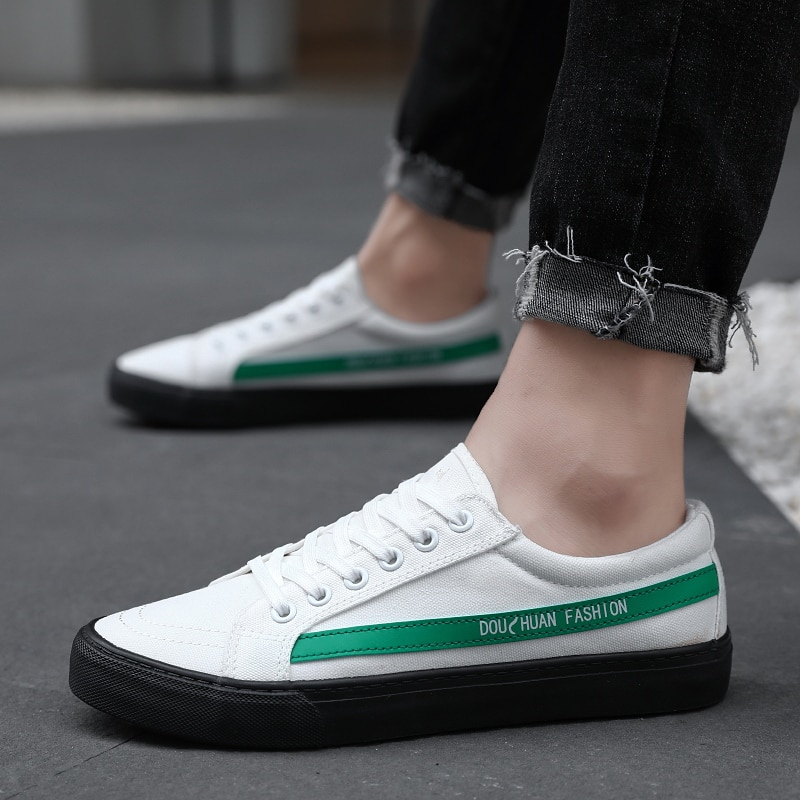 High quality classic men's canvas shoes 2019 summer new low cut flat shoes men's vulcanized shoes fashion casual shoes 193
