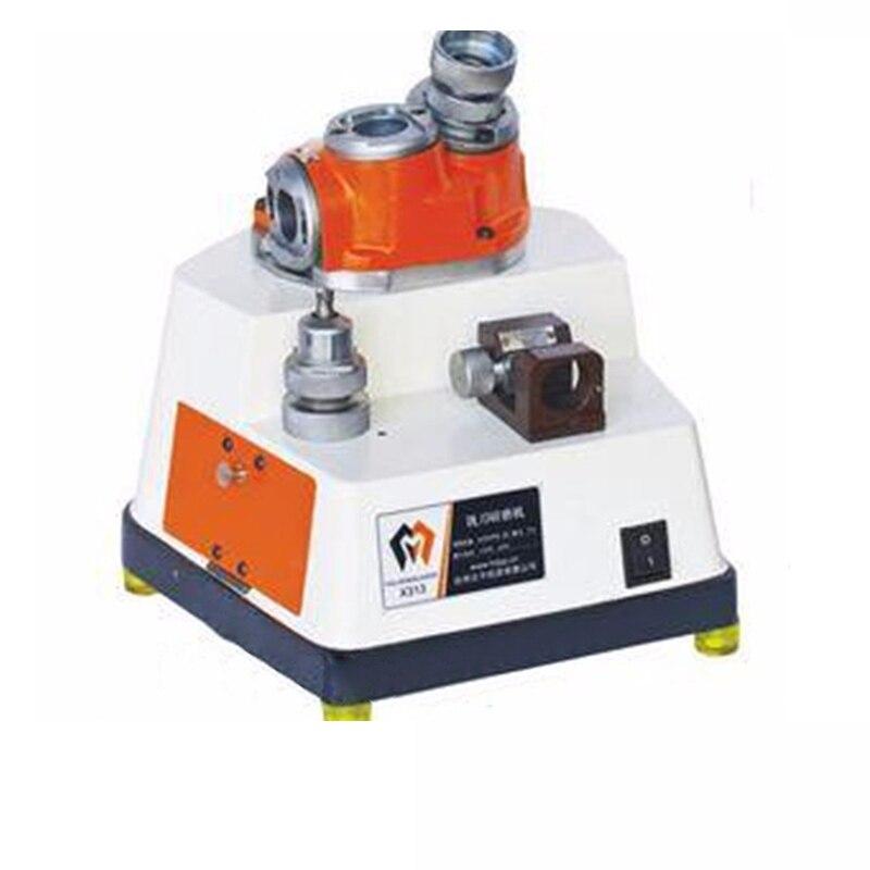 Rectificadora de 4mm-13mm, rectificadora de 220V 250W, rectificadora de extremo automático, fresadora de extremo X-313