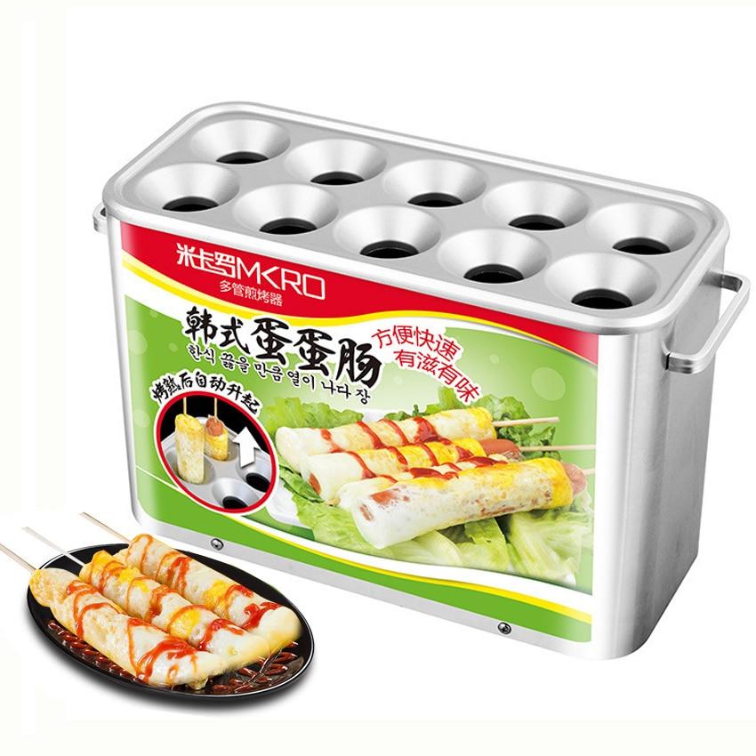 آلة خبز سجق البيض HLA1 ، جهاز طهي أوتوماتيكي لكوب البيض ، آلة هوت دوج التجارية