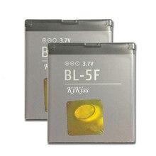 950mAh Remplacement BL-5F BL5F BL 5F Batterie De Téléphone pour Nokia N72 N78 N95 N93i E65 6210 6260S 6290 N96 N98 6710N + Code de Voie