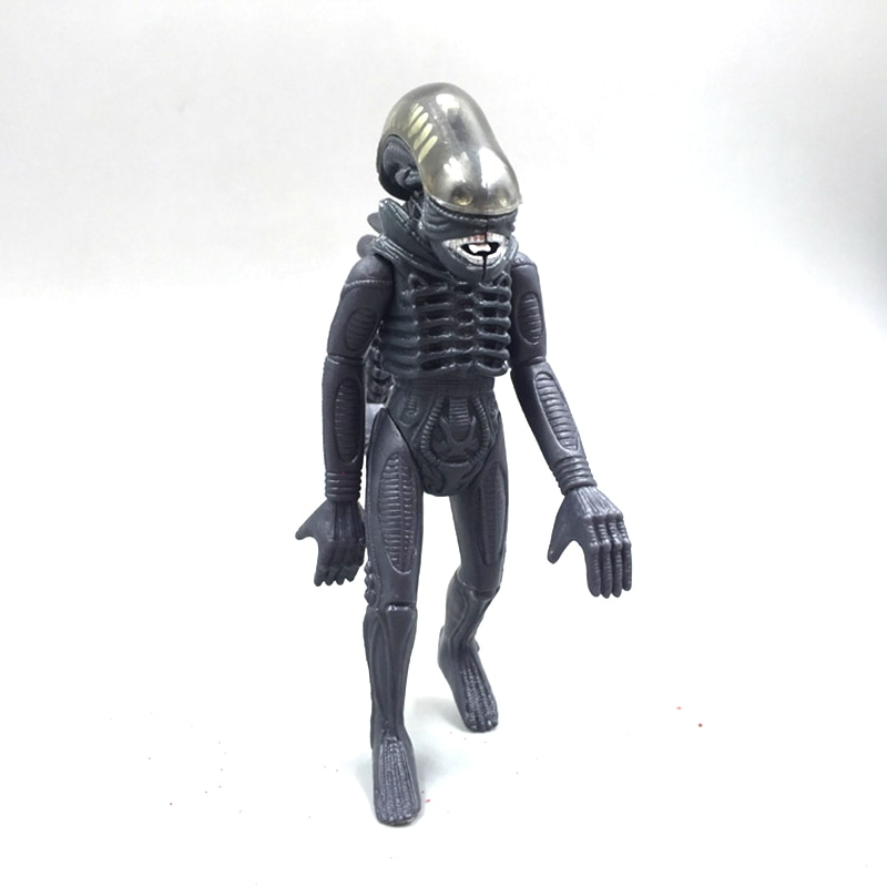 Alienígena Figura Estilo de Luta Action Figure Estrangeiro Preto Ver. Collectible Toy Boneca 11.5 centímetros