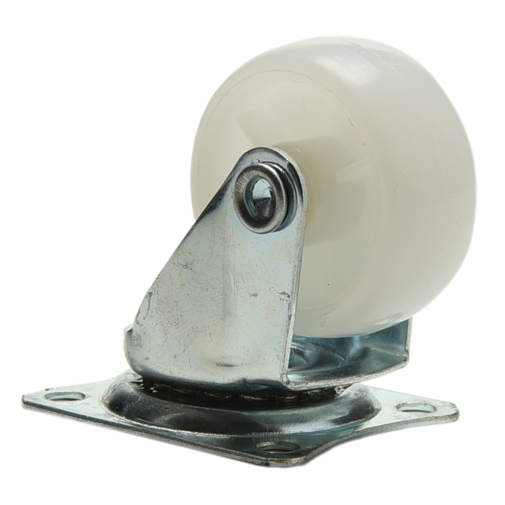 Ruedas giratorias de nailon PP para coche inteligente, silla Robot, mesa, gabinete, patas inferiores, rueda Omni 1 Unidad 10kg