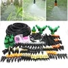 MUCIAKIE – Kits de brumisation d'irrigation goutte-à-goutte de 50M 30M avec 4 Types de buses réglables Spray connecteurs en t