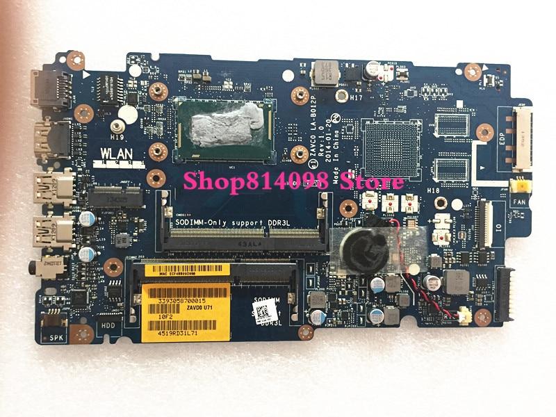 KEFU CN-09P5MC 9P5MC Dell Inspiron 5447, 5442, 5542, 5547 portátil placa base ZAVC0 LA-B012P REV 1,0 I3-4005U placa base