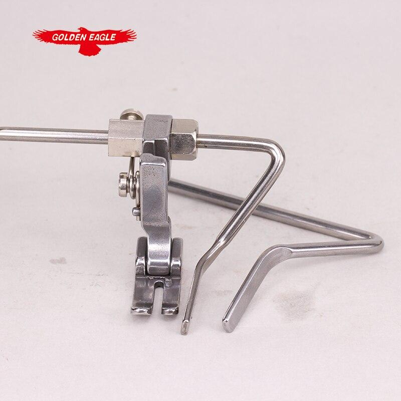 Máquina de costura peças sobresselentes presser pé para máquina de costura esquerda guild pé inferior plano p723