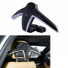 1pcs Multifunctional Car Seat Hook Hanger Headrest Coat Hanger Clothes Suits Holder High Quality
