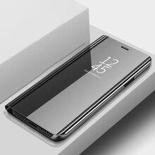 Pour Samsung A9 Pro 2019 étui de luxe en cuir à rabat miroir étui pour Samsung Galaxy A9 Pro 2019 étui de téléphone housse A9Pro A 9 Pro