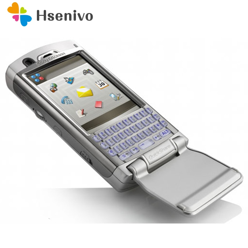 P990 100% Original Unlocked Sony Ericsson P990 P990i Mobile Phone 3G WIFI Bluetooth FM Unlocked Cell Phone Free shipping
