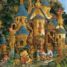 Needlework,Magic Knowledge College 14CT For Counted Handwork Embroidery,DIY Cross stitch kits,Art Cr