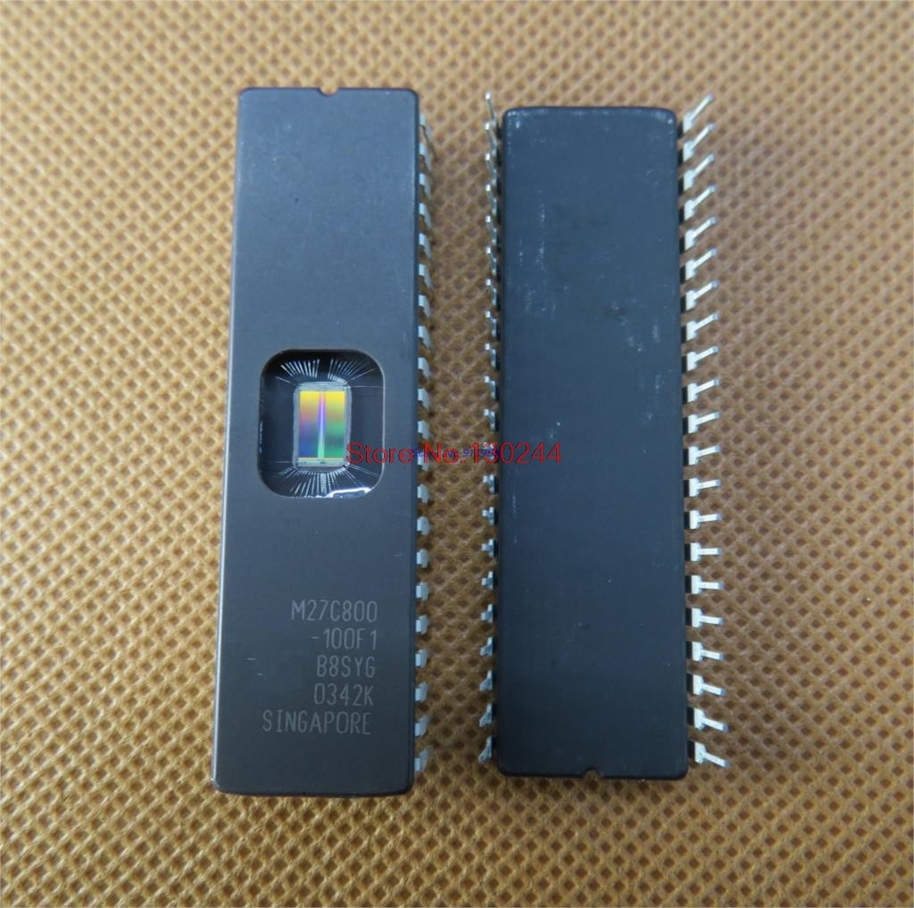 10pcs/lot M27C800-100F1 M27C800-100FI M27C800-120F1 M27C800 27C800 CDIP-42 In Stock