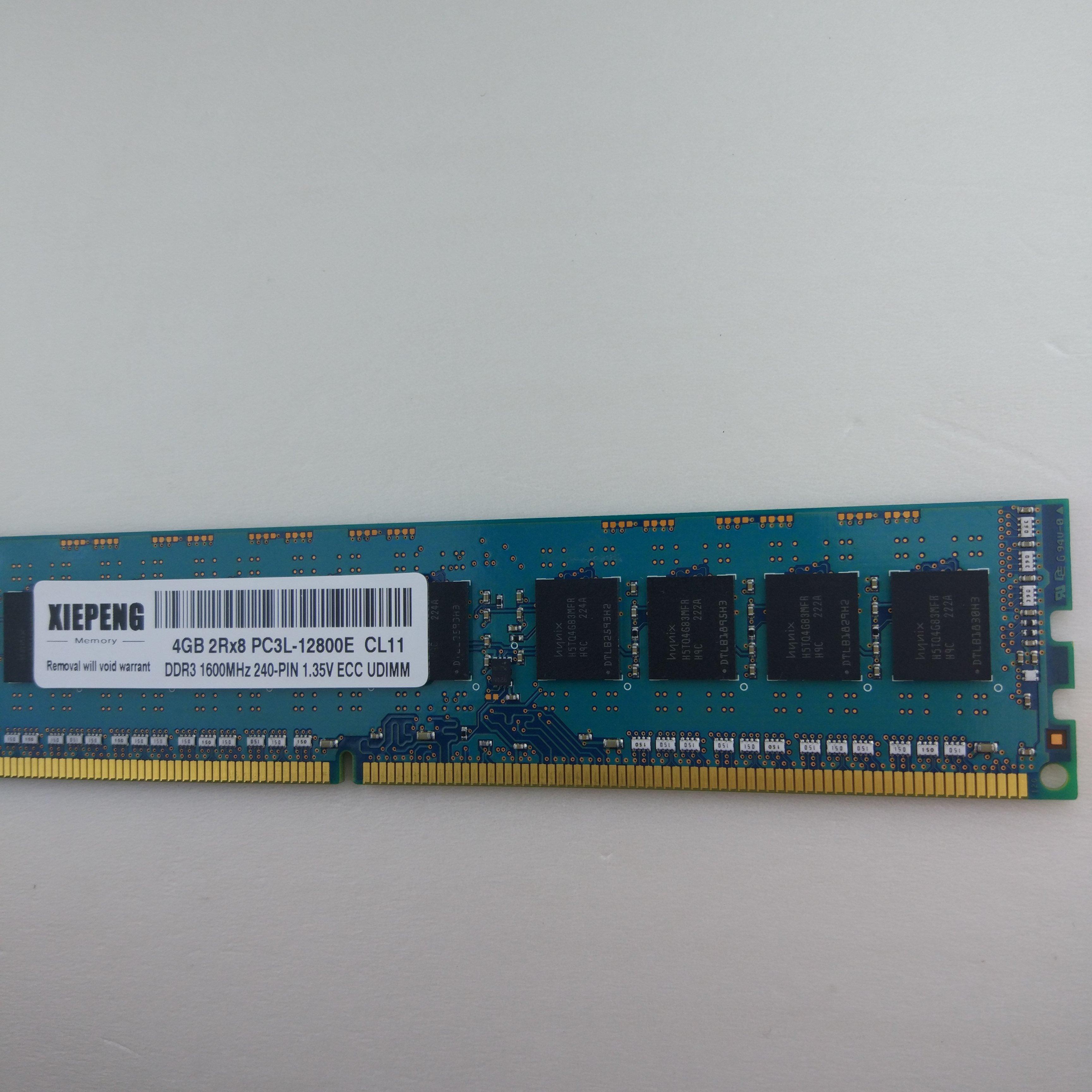 Für Dell PowerEdge C6220 II T320 T420 T620 workstation RAM 8 GB DDR3 1600 MHz Unbuffered DDR3-1600 ECC 4 GB 2Rx8 PC3-12800E Speicher