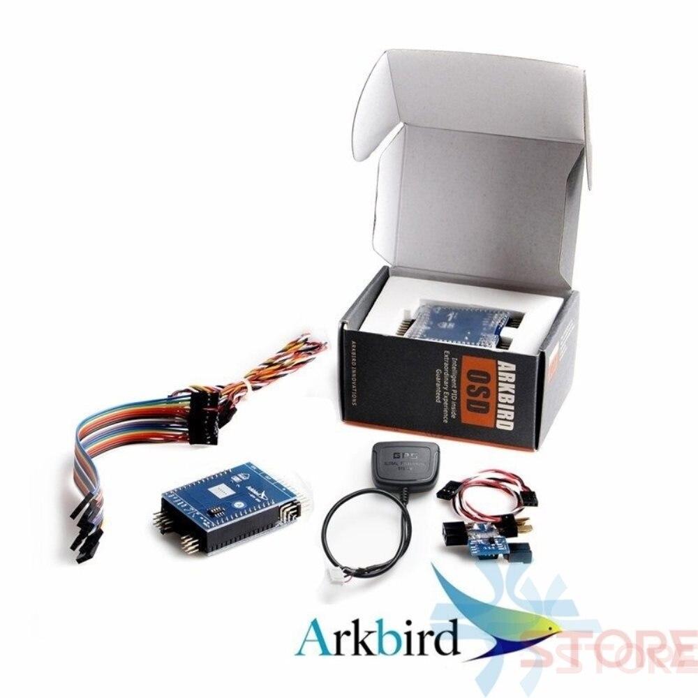 Sistema de controlador de vuelo de piloto automático Arkbird RTH OSD V3.1028 que incluye Sensor de corriente GPS 3S para ala fija de largo alcance