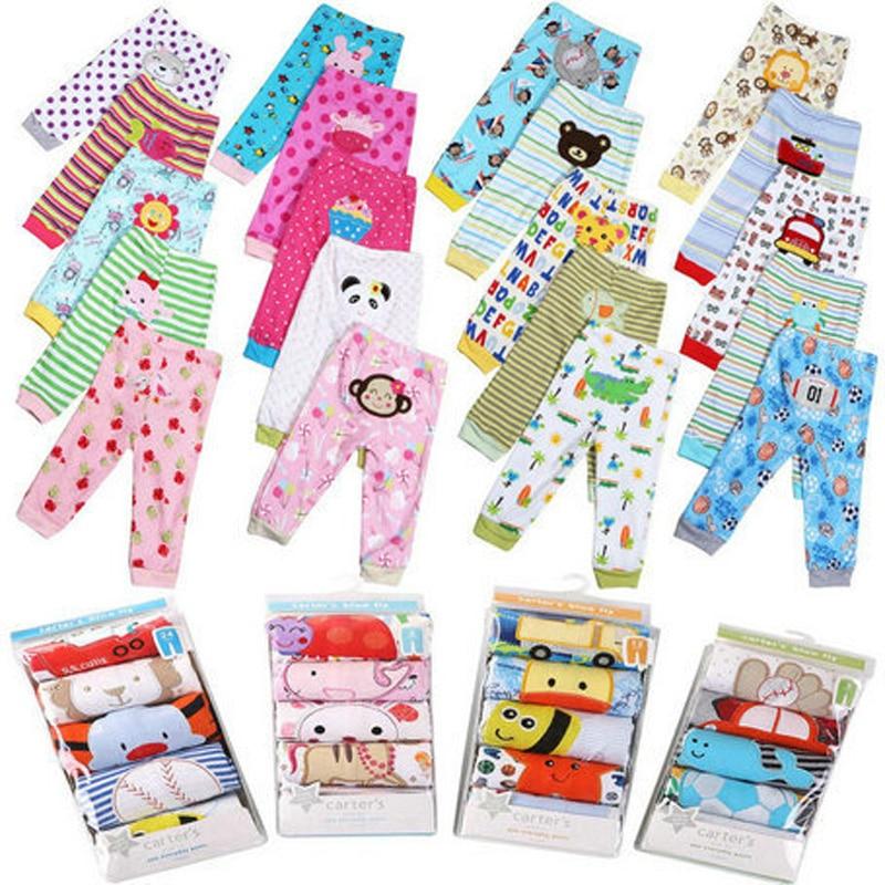 Pantalones PP 3/4/5 piezas por lote, pantalones para bebé, ropa para chico, pantalones para bebé Busha, pantalones para niño de dibujos animados, ropa para niños pequeños, pantalones de algodón