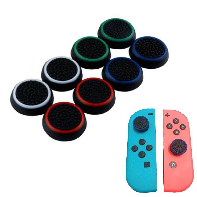 Cubierta de silicona Joypad para palanca de mando analógico para Nintendo Switch Lite NS JoyCon controladores Joystick