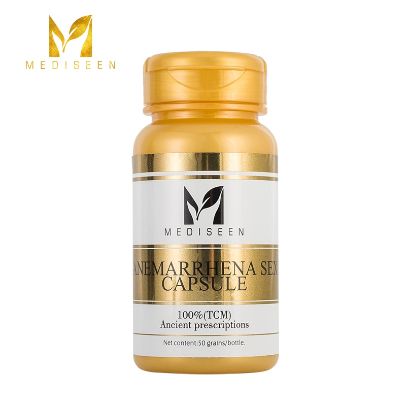 Mediseen Anemarrhena Sex capsule, Deficiency, Lack of Source of Kidney Refinement and Insufficiency of Kidney Refinement, 50pcs