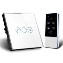 30 m controle remoto led toque dimmer switch 300 w painel de cristal interruptor controlador parede para led luz escurecimento lâmpada halogéneo