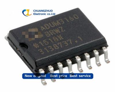New original ADUM3160BRWZ ADUM3160BRWZ-RL DGTL ISO 2.5KV 2CH USB 16 8SOIC