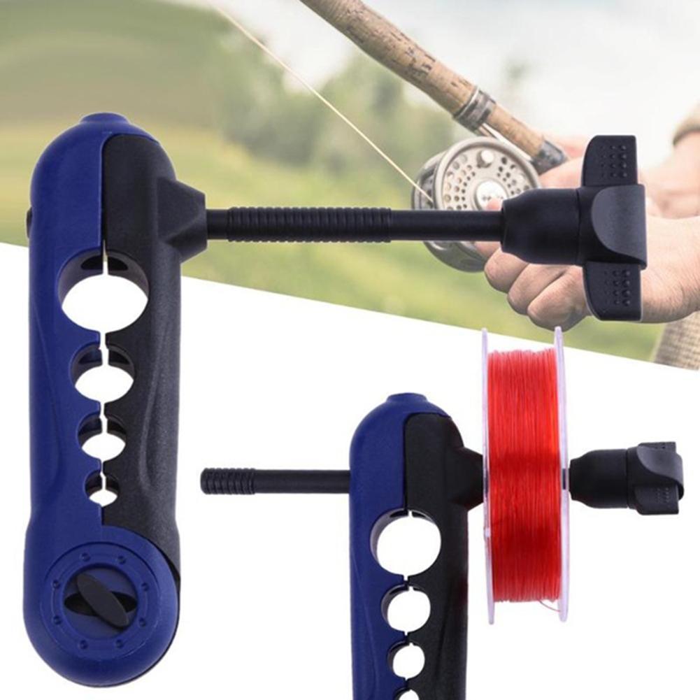 AliExpress - Portable Universal Fishing Line Spooler Adjustable for Various Sizes Rod Bobbin Reel Winder Board Spool Line Wrapper Mini