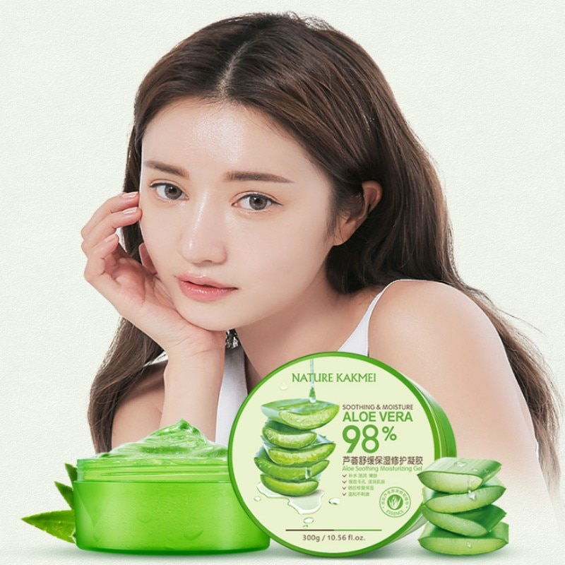 98% Aloe Vera Moisturizing Gel Natural Cream Moisturizer for repairing skin
