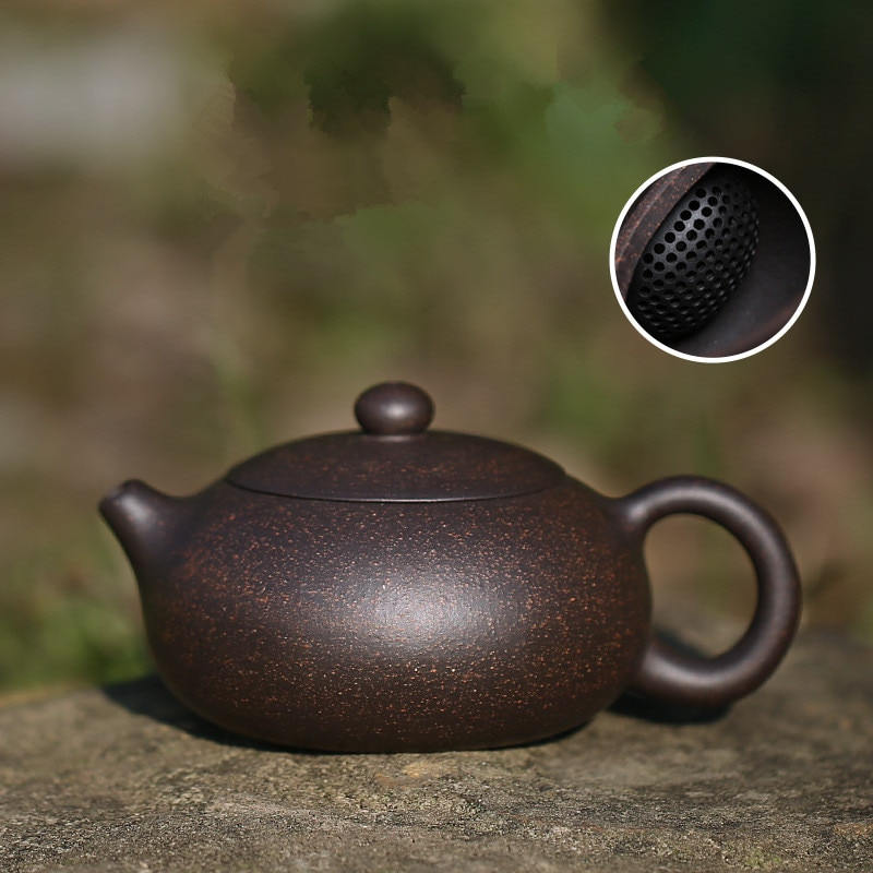 200 мл yixing чайник zisha xishi заварочный чайник ручной работы чайник фиолетовая глина Посуда для напитков с подарочной коробкой костюм tieguanyin puer