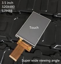 2.4/2.8/3.2/3.5 inç TFT LCD ekran ekran dokunmatik panel 40 pin soketi MCU I8080 8/16BIT SPI 3/4 tel PCB konektörü IPS tam görünüm