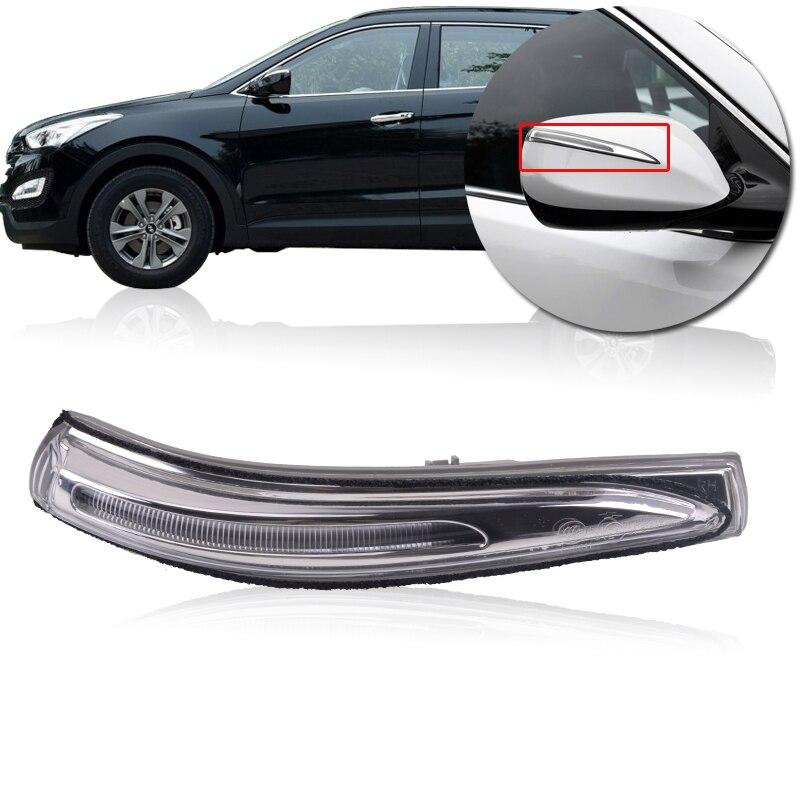 CAPQX para Hyundai Santa Fe Sport 2014 2015 2016 lado derecho e izquierdo intermitente para espejo retrovisor lámpara de señal 87613 2W000 87623 2W000