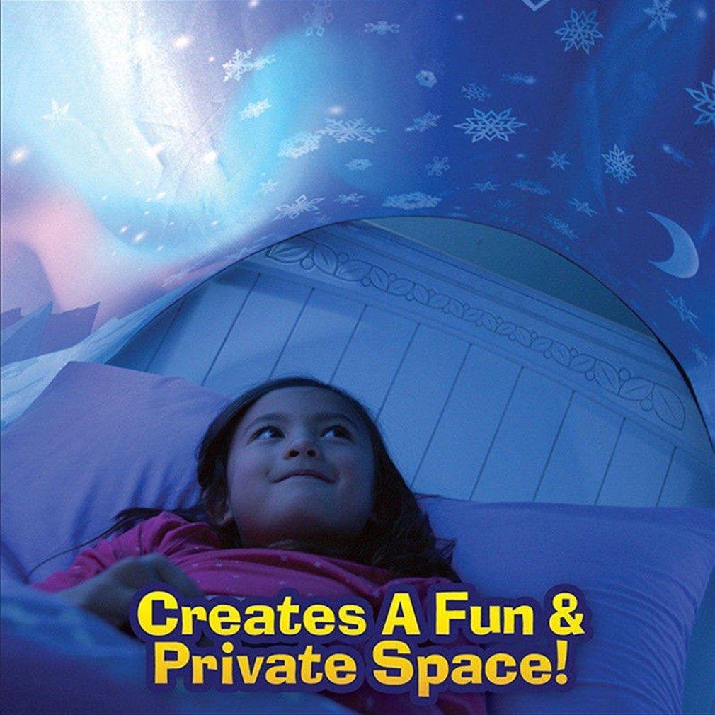 Innovative Dream Magical Tents Kids Pop Up Bed Tent  Winter Wonderland Gift For Children