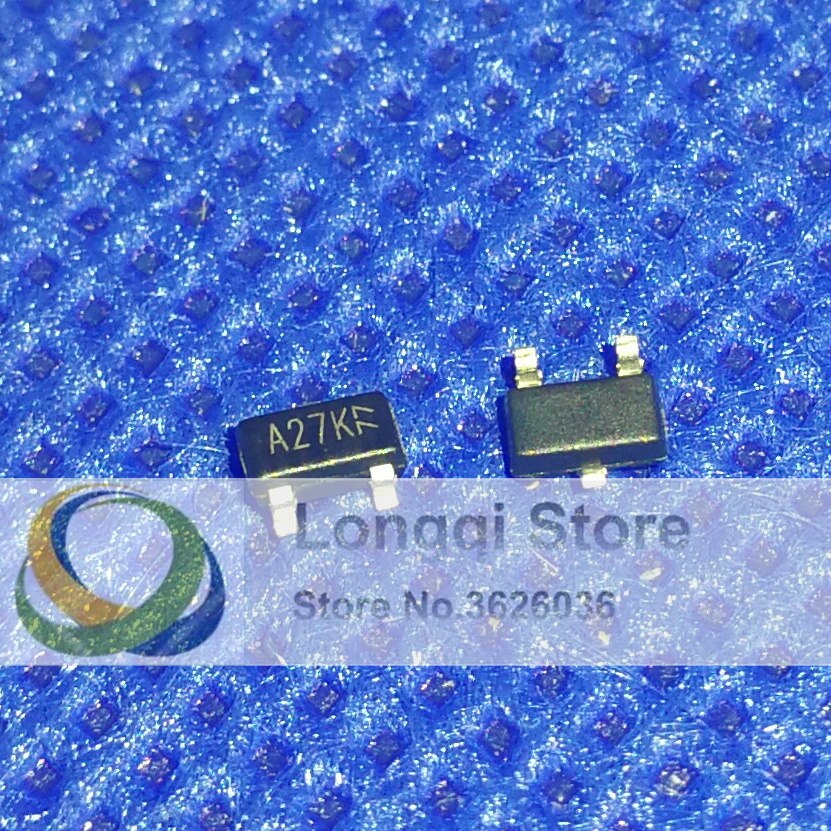 50 piezas AO3402 3402 Mark A27K SOT-23 SOT-23-3L Modo de mejora de Canal N Transistor de efecto de campo NPN 4A 30 V