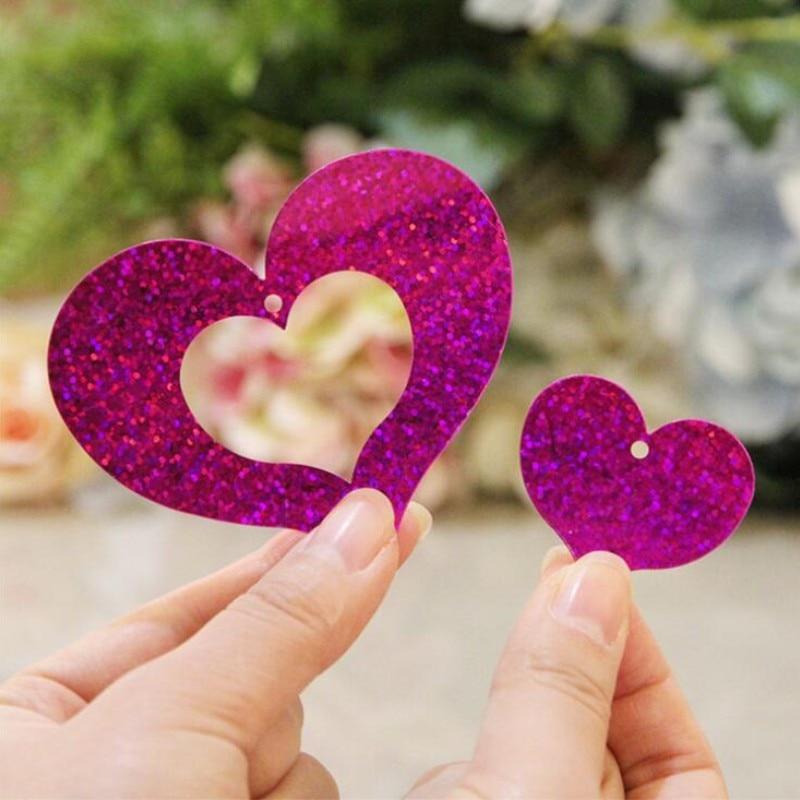 Supply PVC silk rain heart pendant balloon accessories decoration wedding party supplies children happy birthday baby shower  - buy with discount