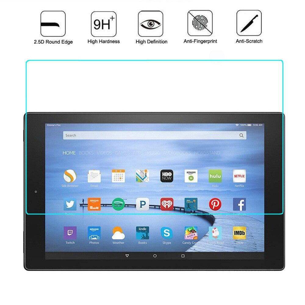 Szkło hartowane do 10.1 Cal Tablet PC ochrona ekranu LCD Film uniwersalny 2.5D 9H folia ochronna na ekran do 10 Cal Tablet PC